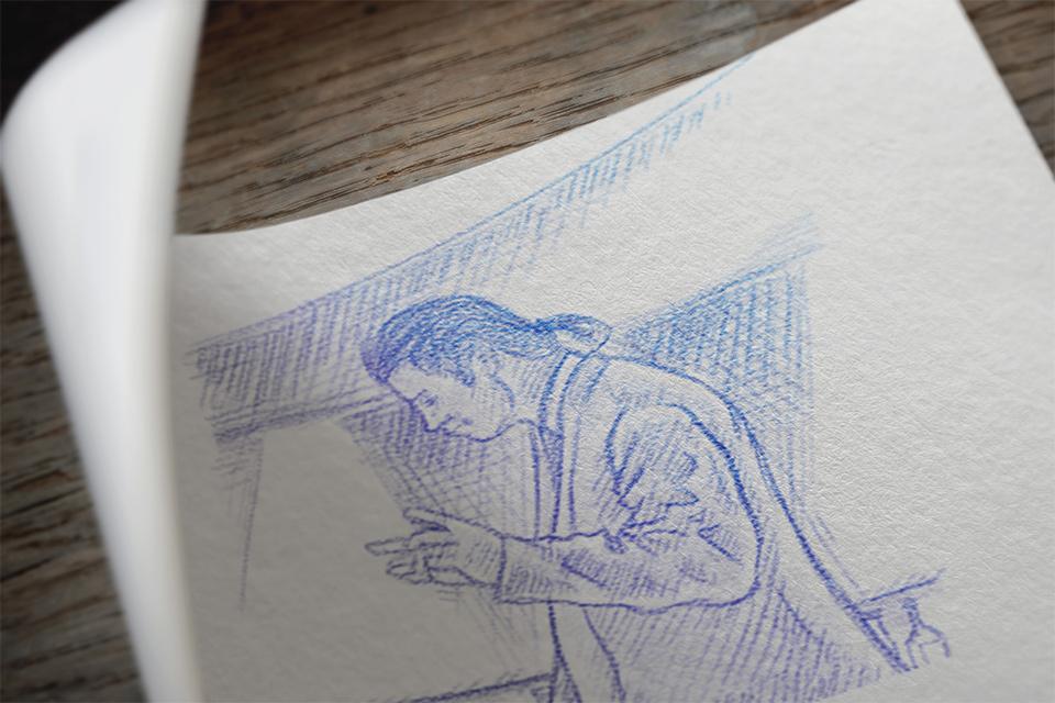 Дизайн корпоративного подарка: иллюстрация