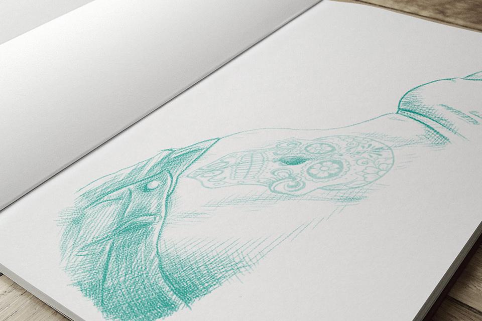 Разработка иллюстрации для корпоративного подарка