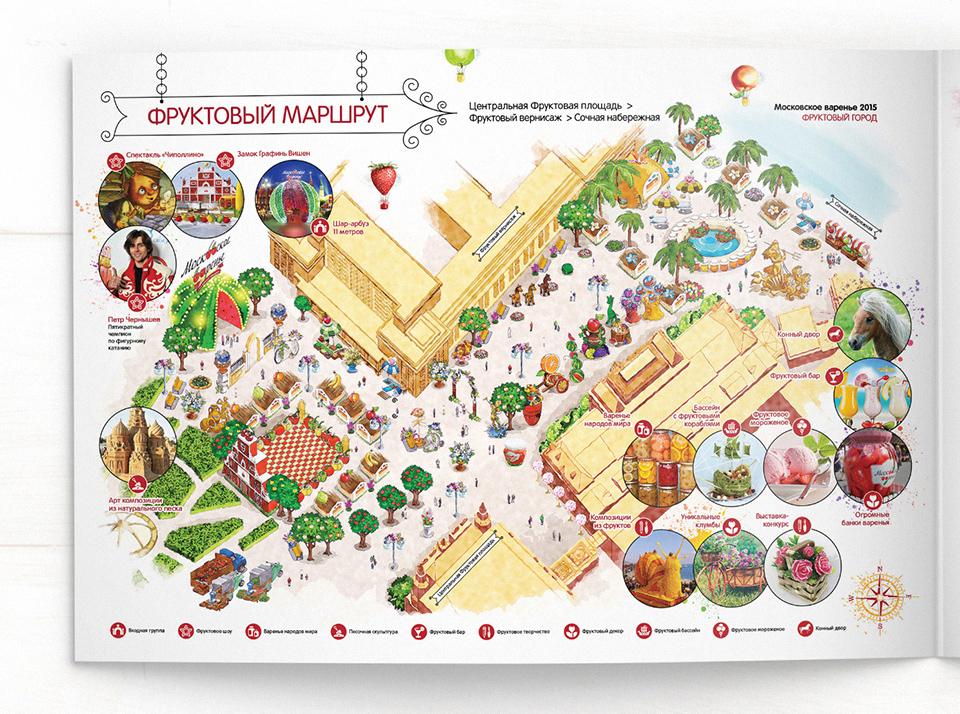 Разработка дизайна карты