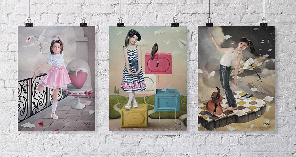 Креативная концепция рекламной кампании детского бутика