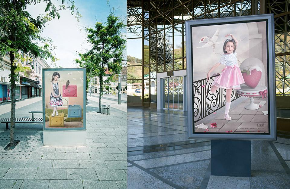 Креативная концепция в рекламной кампании одежды
