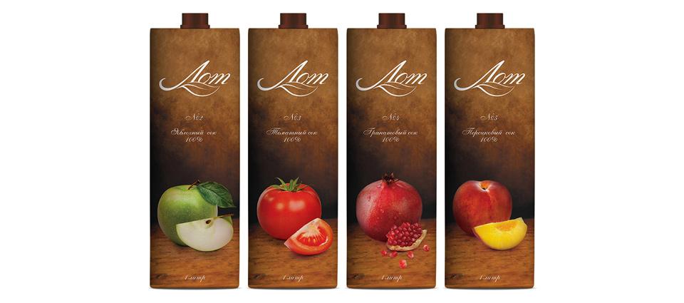 Дизайн упаковки в серии