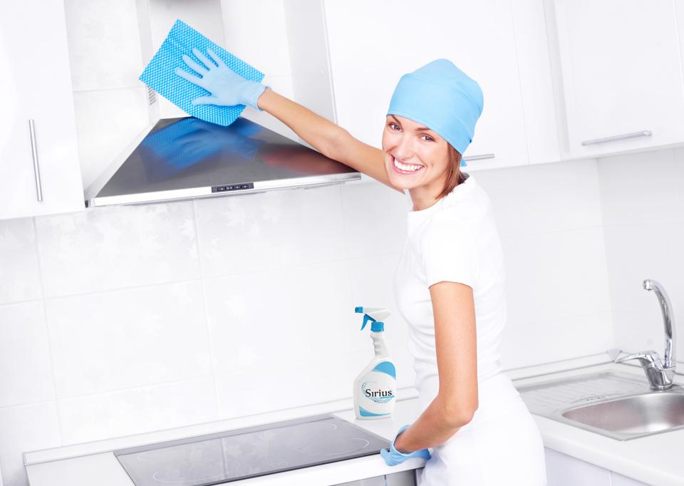 Креативная концепция рекламы чистящего средства